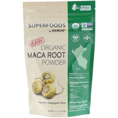 MRM, Raw Organic Maca Root Powder, 8.5 oz (240 g) Review