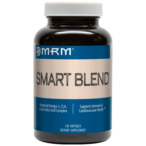MRM, Smart Blend, Advanced Omega-3, CLA & GLA Fatty Acid Complex, 120 Softgels Review