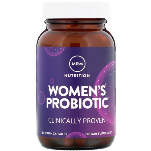 MRM, Women's Probiotic, 60 Vegan Capsules Review
