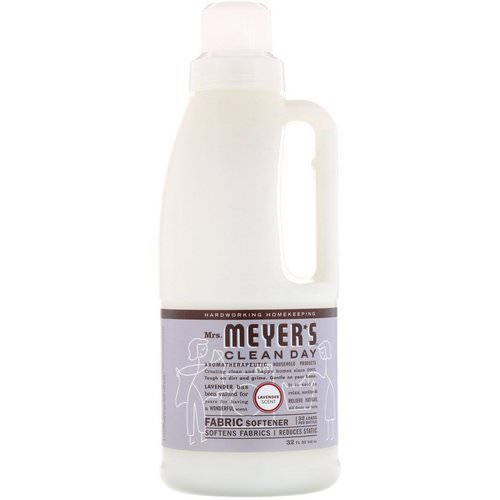 Mrs. Meyers Clean Day, Fabric Softener, Lavender Scent, 32 fl oz (946 ml) Review