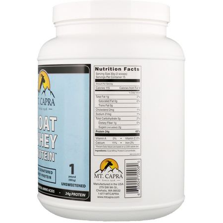 Goat Protein, Animal Protein, Protein, Sports Nutrition