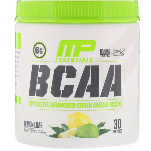 MusclePharm, BCAA Essentials, Lemon Lime, 0.52 lbs (234 g) Review