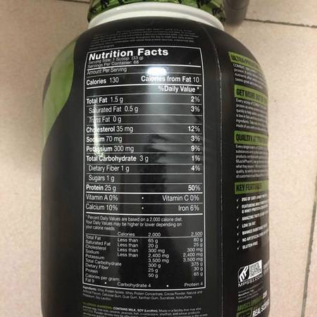 Sports Nutrition Protein Whey Protein Whey Protein Blends MusclePharm