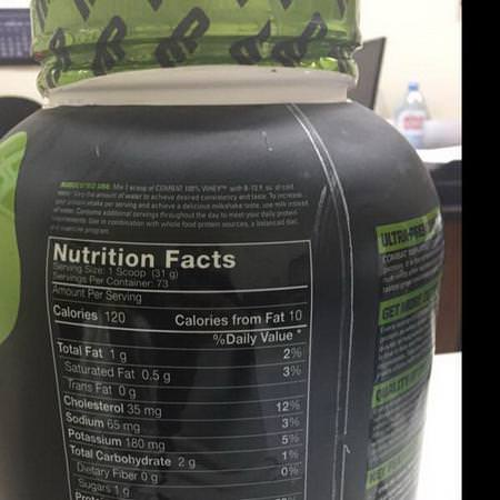 MusclePharm Sports Nutrition Protein Whey Protein