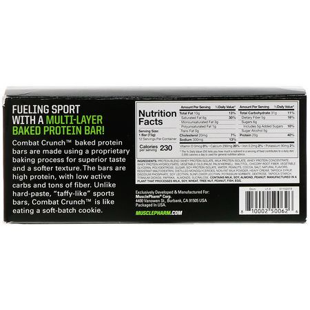MusclePharm, Whey Protein Bars, Milk Protein Bars