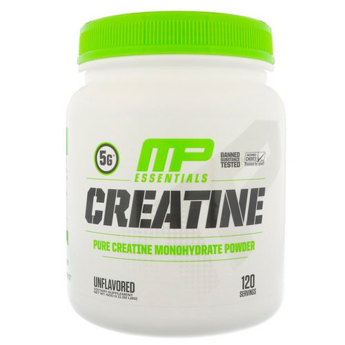 MusclePharm, Creatine Essentials, Unflavored, 1.32 lbs (600 g) Review