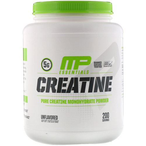 MusclePharm, Creatine Essentials, Unflavored, 2.2 lbs (1 kg) Review
