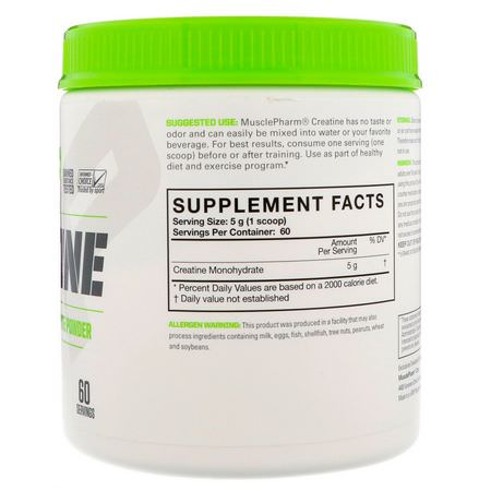 Creatine Monohydrate, Creatine, Muscle Builders, Sports Nutrition