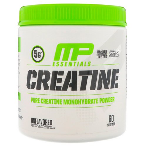 MusclePharm, Essentials Creatine, Unflavored, 0.66 lbs (300 g) Review