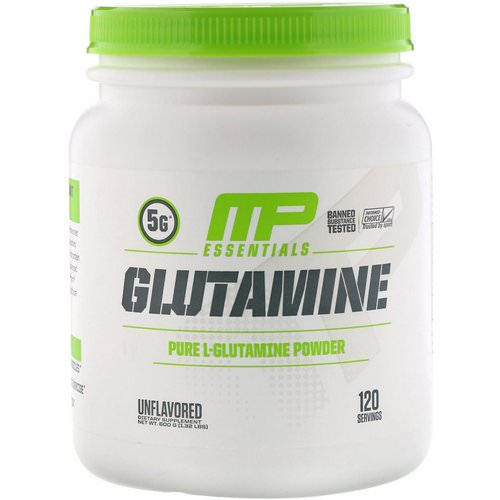 MusclePharm, Glutamine Essentials, Unflavored, 1.32 lbs (600 g) Review