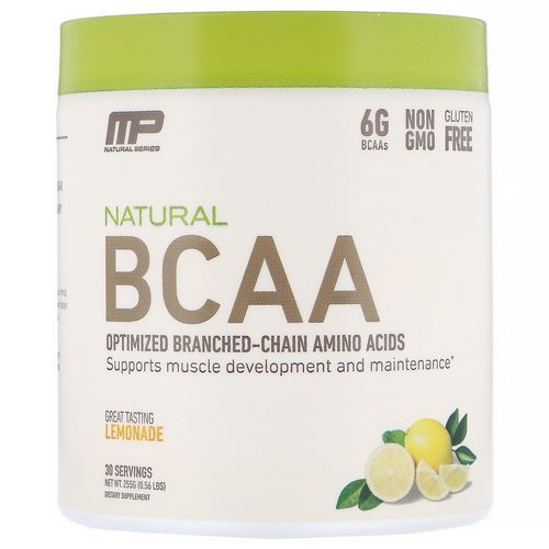 MusclePharm, Natural BCAA, Lemonade, 0.56 lbs (255 g) Review