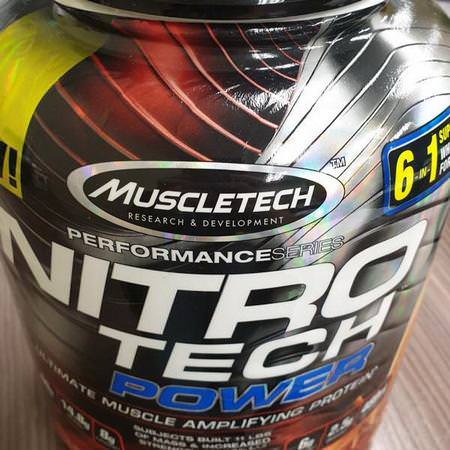 Muscletech, Whey Protein Blends