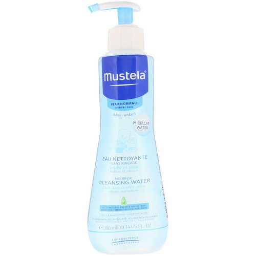 Mustela, Baby, No Rinse Cleansing Water, For Normal Skin, 10.14 fl oz (300 ml) Review