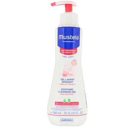 Mustela, Baby, Soothing Cleansing Gel, Very Sensitive Skin, 10.14 fl oz (300 ml) Review