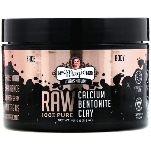 My Magic Mud, Raw 100% Pure, Calcium Bentonite Clay, 5.5 oz (155.9 g) Review