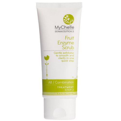 MyChelle Dermaceuticals, Fruit Enzyme Scrub, Normal, 2.3 fl oz (68 ml) Review