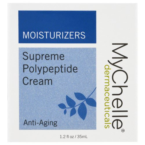 MyChelle Dermaceuticals, Supreme Polypeptide Cream, Anti-Aging, 1.2 fl oz (35 ml) Review