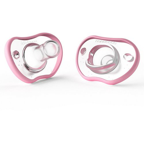 Nanobebe, Flexy Pacifier, 3+ Months, Pink, 2 Pack Review