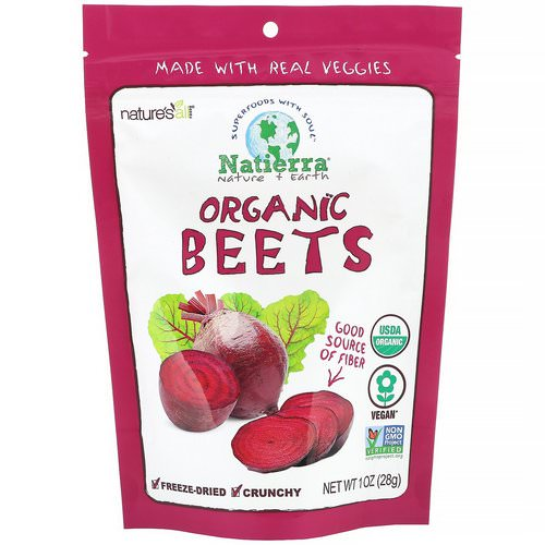Natierra, Organic Freeze-Dried, Beets, 1 oz (28 g) Review