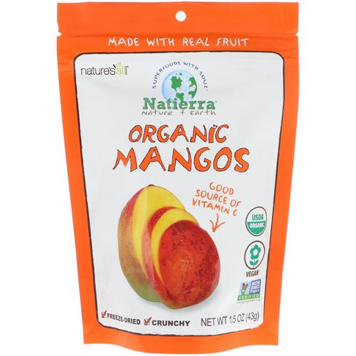 Natierra, Organic Freeze-Dried, Mango, 1.5 oz (42.5 g) Review