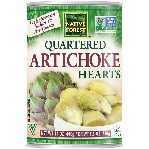 Native Forest, Edward & Sons, Native Forest, Quartered Artichoke Hearts, 14 oz (400 g) Review