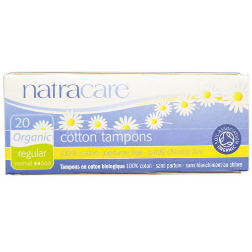 Natracare, Organic Cotton Tampons, Regular, 20 Tampons Review