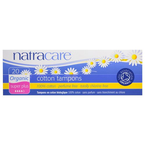 Natracare, Organic Cotton Tampons, Super Plus, 20 Tampons Review