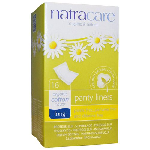 Natracare, Organic & Natural Panty Liners, Long, 16 Liners Review