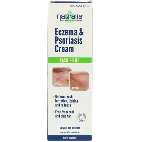 Natralia, Eczema & Psoriasis Cream, 2 oz (56 g) Review