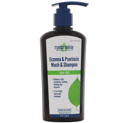 Natralia, Eczema & Psoriasis Wash & Shampoo, 7 fl oz (200 ml) Review