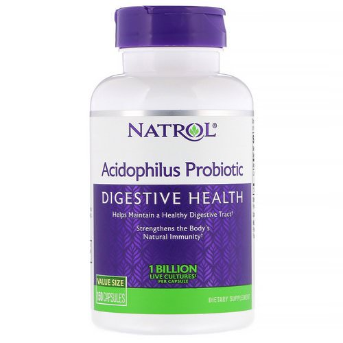 Natrol, Acidophilus Probiotic, 1 Billion, 150 Capsules Review