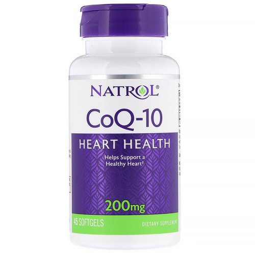 Natrol, Co-Q10, 200 mg, 45 Softgels Review