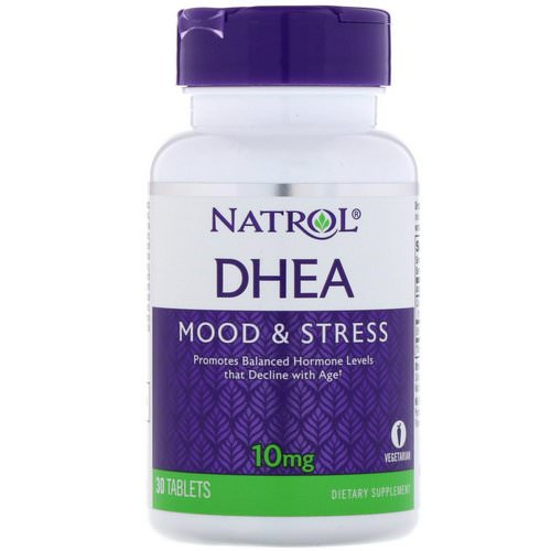 Natrol, DHEA, 10 mg, 30 Tablets Review
