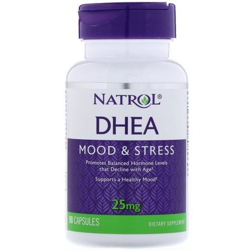 Natrol, DHEA, 25 mg, 90 Capsules Review