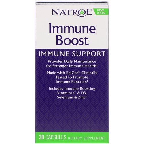 Natrol, Immune Boost, 30 Capsules Review