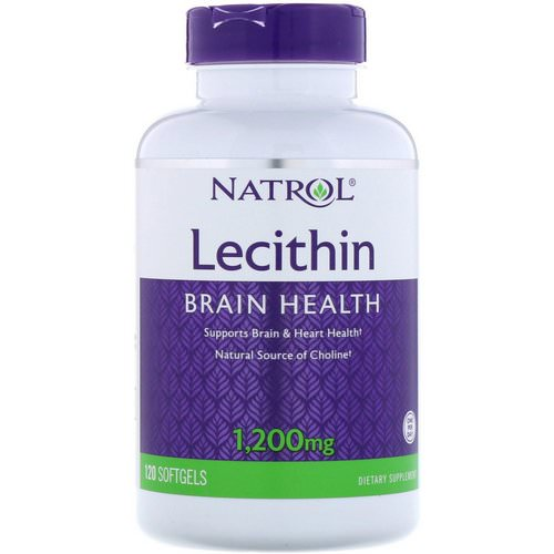 Natrol, Lecithin, 1,200 mg, 120 Softgels Review
