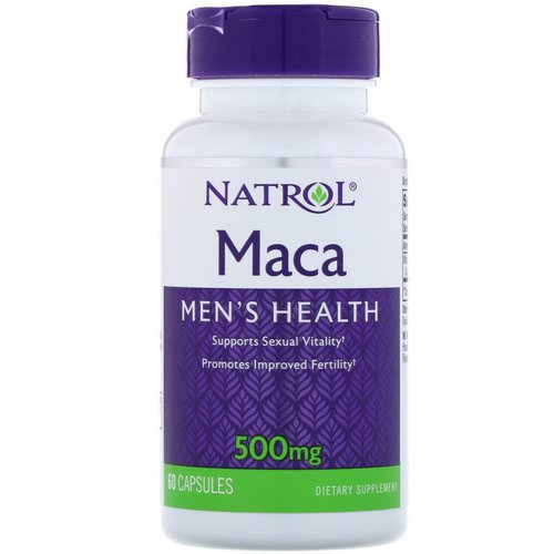Natrol, Maca, 500 mg, 60 Capsules Review