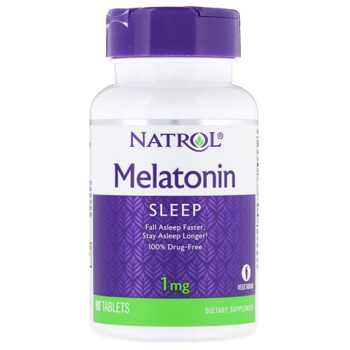 Natrol, Melatonin, 1 mg, 90 Tablets Review