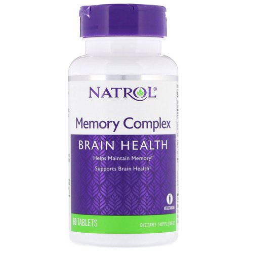 Natrol, Memory Complex, 60 Tablets Review