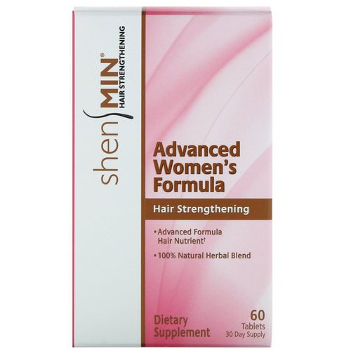 Natrol, Shen Min, Advanced Women's Hair Strengthening Formula, 60 Tablets Review