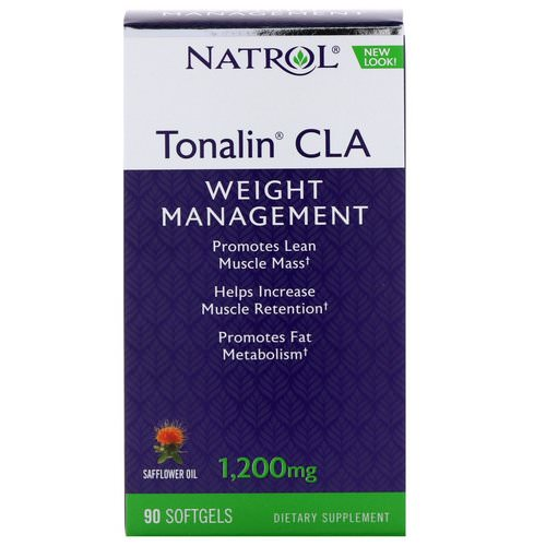 Natrol, Tonalin CLA, 1200 mg, 90 Softgels Review