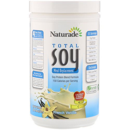 Naturade, Total Soy Meal Replacement, French Vanilla, 17.88 oz (507 g) Review