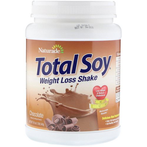 Naturade, Total Soy, Weight Loss Shake, Chocolate, 1.2 lbs (540 g) Review