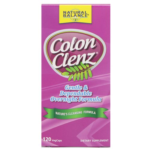 Natural Balance, Colon Clenz, 120 Vegetarian Capsules Review