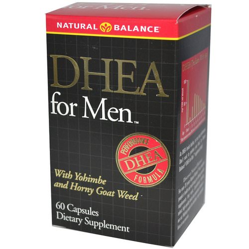 Natural Balance, DHEA for Men, 60 Capsules Review