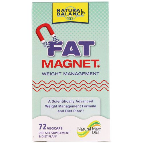Natural Balance, Fat Magnet, Weight Management, 72 Vegcaps Review