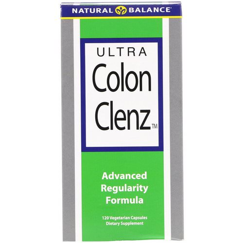 Natural Balance, Ultra Colon Clenz, 120 Vegetarian Capsules Review
