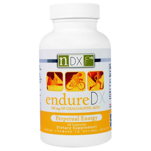Natural Dynamix (NDX), Endure DX, Perpetual Energy, 30 Capsules Review