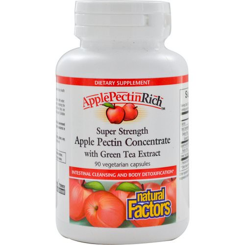 Natural Factors, ApplePectinRich, Super Strength Apple Pectin Concentrate, 90 Veggie Caps Review