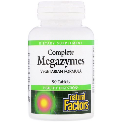 Natural Factors, Complete Megazymes, 90 Tablets Review